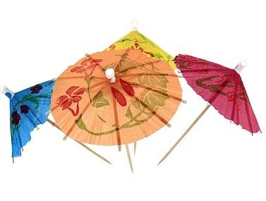 Прикрашаємо коктейль парасольками