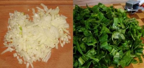 Моєму і подрібнюємо овочі