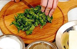 Кришимо зелень для соусу