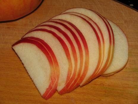 скибочки яблука