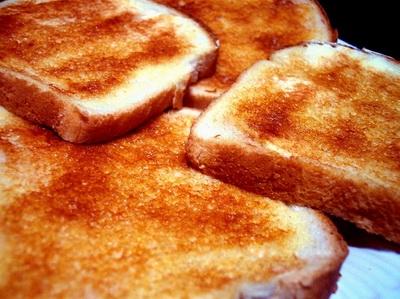 грінки з білого хліба, як варіант