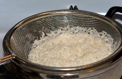 промиваємо рис