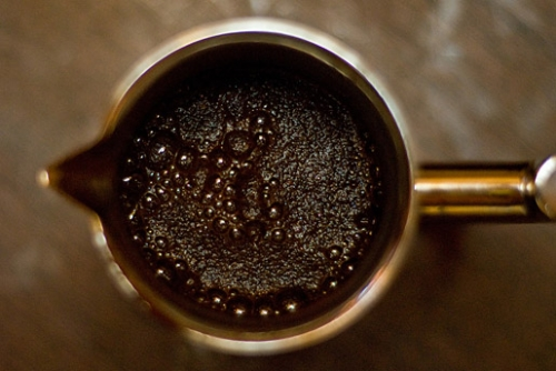 доводимо каву до кипіння