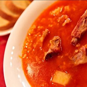 суп з булгуром