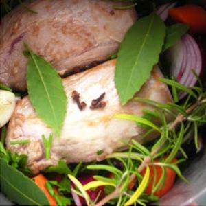 м'ясо з травами