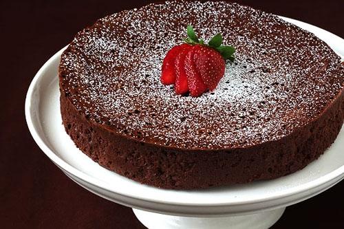 шоколадно-пшеничний пиріг