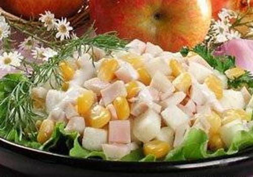 Салат «Європа» з ананасом