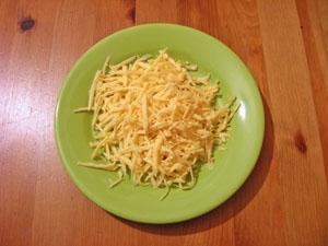 Тремо сир на крупній тертці