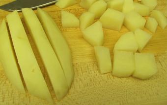 подрібнюємо картопля