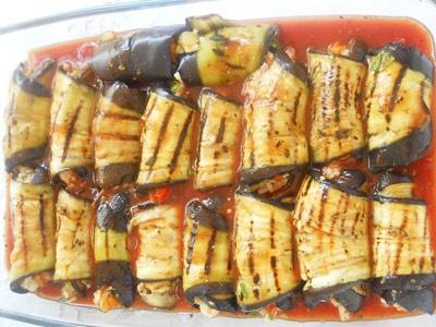баклажани в томаті