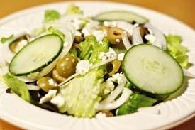 зелений грецький салат