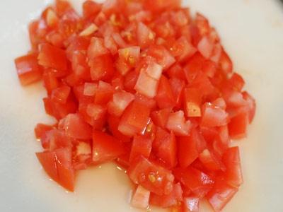 томат кубиком