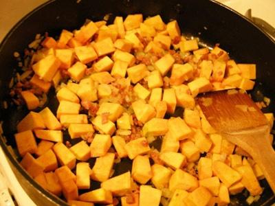 гарбуз на сковороді