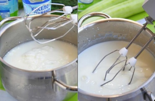 збиваємо кисле молоко