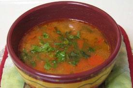 циганський гострий суп