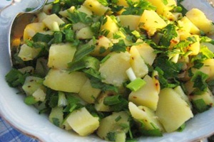 Турецький картопляний салат